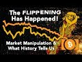 The Flippening Has Happened! Market manipulation and what history tells us